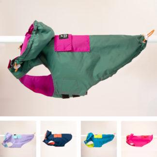 woof & wiggle Regenjacke für Hunde