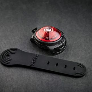 Oribiloc safety light for dogs in color red