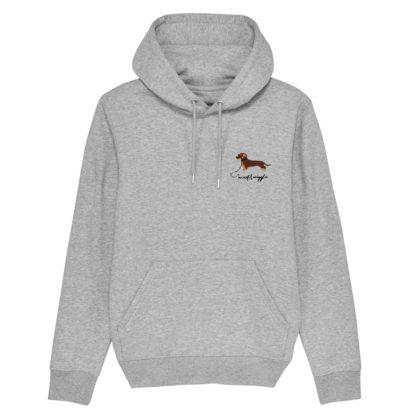 woof & wiggle teckel stick sweater