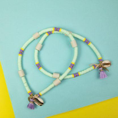 Katsuki dog collar against ticks in turquoise