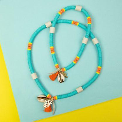Katsuki dog necklace against ticks in mint