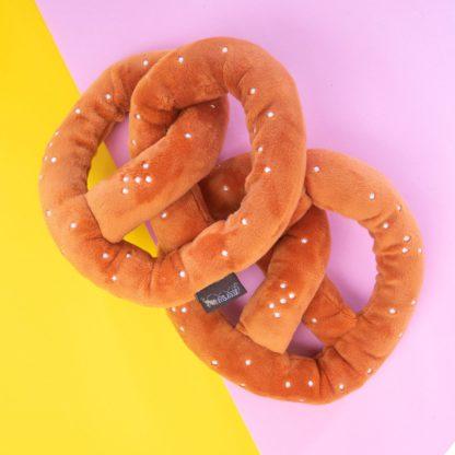 Hondenspeelgoed pretzel