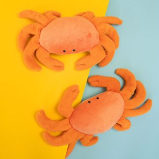 Crabs dog toy