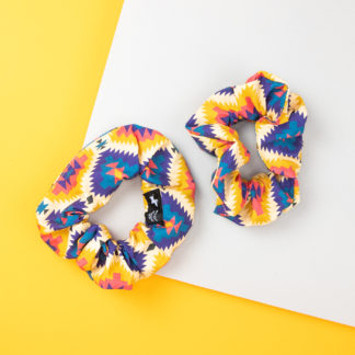 Scrunchie Haargummi im Mexico City Design