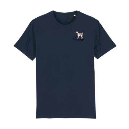 woof & wiggle Jack Russell Terrier Stick T-Shirt