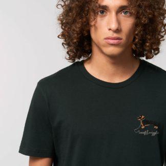 woof & wiggle Dackel Stick T-Shirt