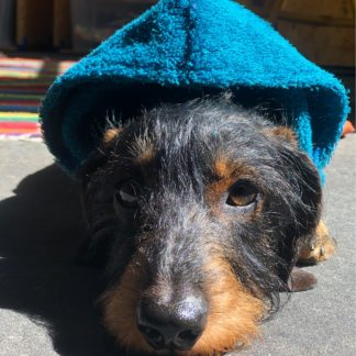 Trockenponcho Bademantel für Hunde