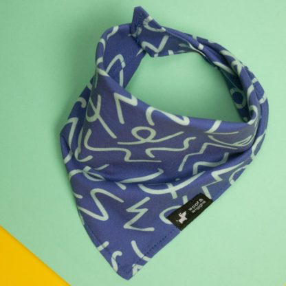 "Dog bandana with design ""Copenhagen"""