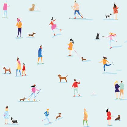 Bandana per cani con motivi invernali