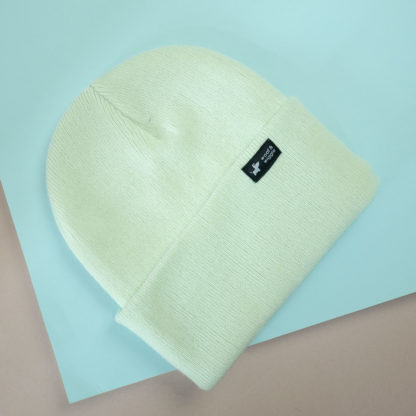 Dog walk beanie color mint