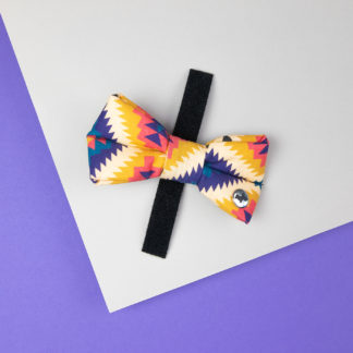 """Dog bow tie in the design """"Mexico City"""""""