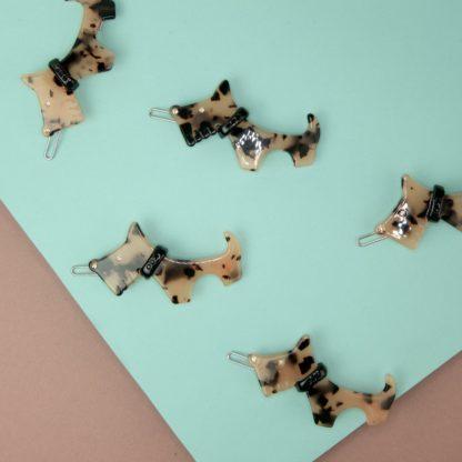 Acetat Haarklammer Hund