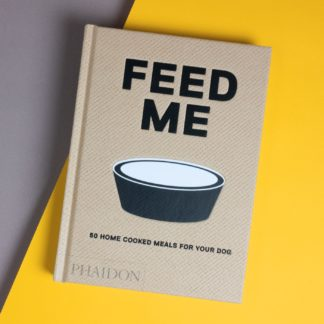"Book ""Feed Me"" with recipes for dog food"