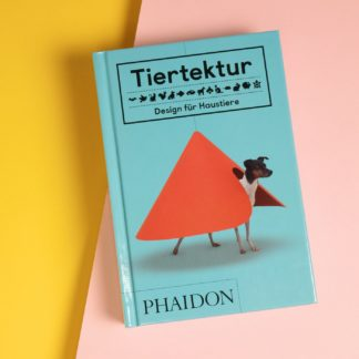 "Book ""Tiertektur"" with design objects"