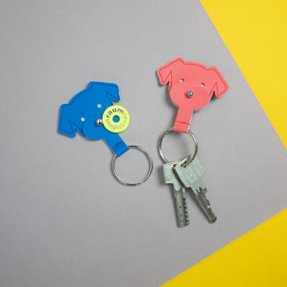 Dog shaped keyholder