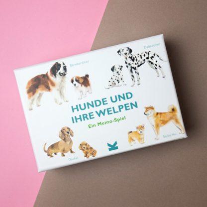 """Memo-Spiel """"Hunde und ihre Welpen"""""""